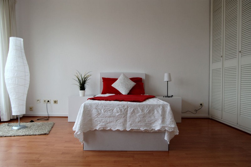Details Schlafbereich_1000x665 - Penthouse-Appartement, Dachterrasse, EBK und Schwimmbad im Haus.