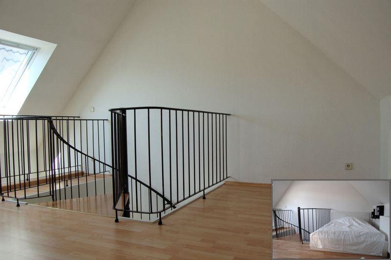 - Sahnestück in Grafenberg, Galerie- Maisonette-Wohnung mit Stellplatz.