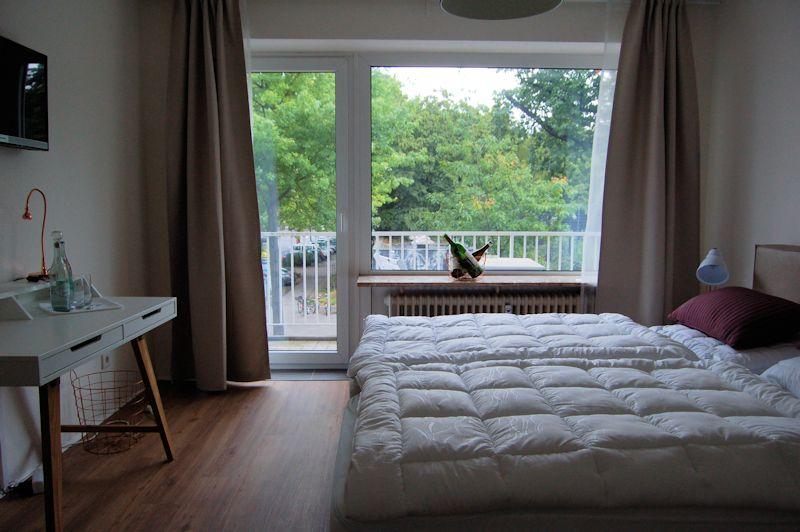 - Lebendig, bunt und zentral, Appartement Pfalzstraße.