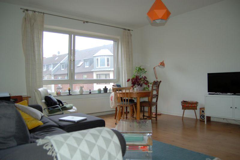 - Wohnen in Bilk – gepflegte 2-Zimmer-Wohnung